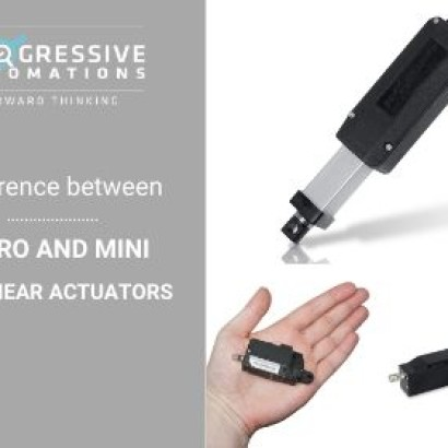 Micro and Mini 12V Linear Actuators: Differences and Features