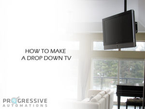 How To Make A Drop Down TV main