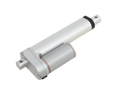 Photo of a mini linear actuator by Progressive Automations