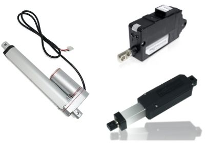 Photo of a mini and micro linear actuator by Progressive Automations