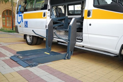 Actuators for car lift for wheelchair